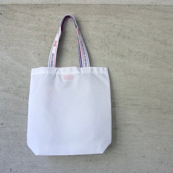 YOUNG & OLSEN The DRYGOODS STORE | Y&O SHOPPING TOTE BF(WHITE)