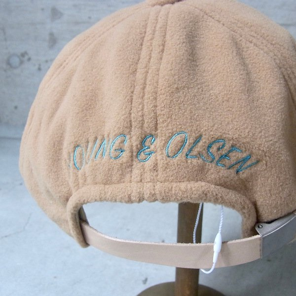 YOUNG & OLSEN The DRYGOODS STORE | JIMMY THE CAT POLAR CAP(CAMEL)
