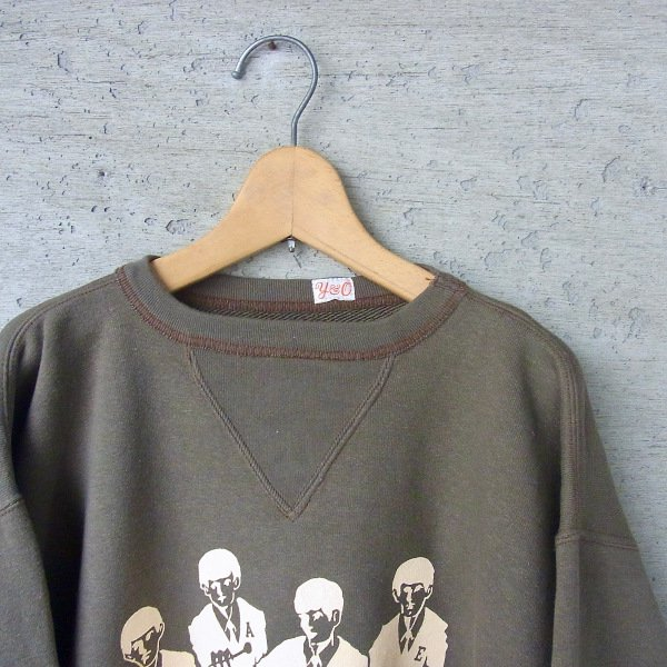 YOUNG & OLSEN The DRYGOODS STORE | LOOP WHEELED PRINTED SWEAT(FAKE 4)