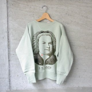 YOUNG & OLSEN The DRYGOODS STORE   LOOP WHEELED PRINTED SWEAT(J.S. BACH)