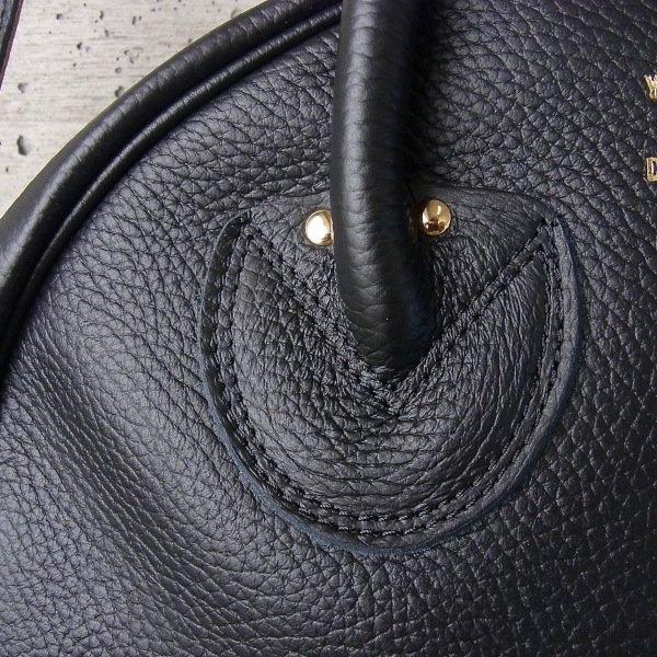 YOUNG & OLSEN The DRYGOODS STORE | EMBOSSED LEATHER WEEK-ENDER S(BLACK)
