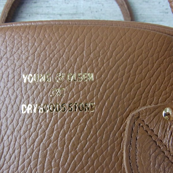 YOUNG & OLSEN The DRYGOODS STORE   EMBOSSED LEATHER WEEK-ENDER S(BROWN)