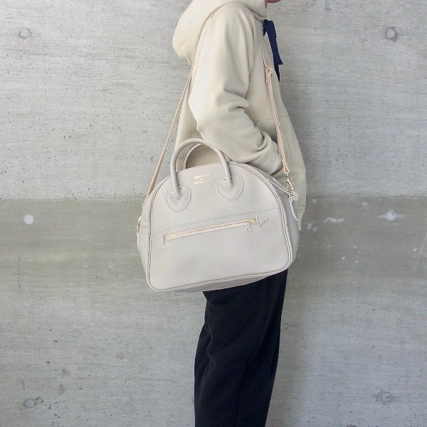 YOUNG & OLSEN The DRYGOODS STORE | EMBOSSED LEATHER WEEK-ENDER S(BEIGE)