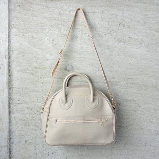 YOUNG & OLSEN The DRYGOODS STORE   EMBOSSED LEATHER WEEK-ENDER S(BEIGE)