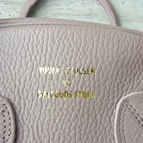 YOUNG & OLSEN The DRYGOODS STORE | EMBOSSED LEATHER WEEK-ENDER S(ANTLER)
