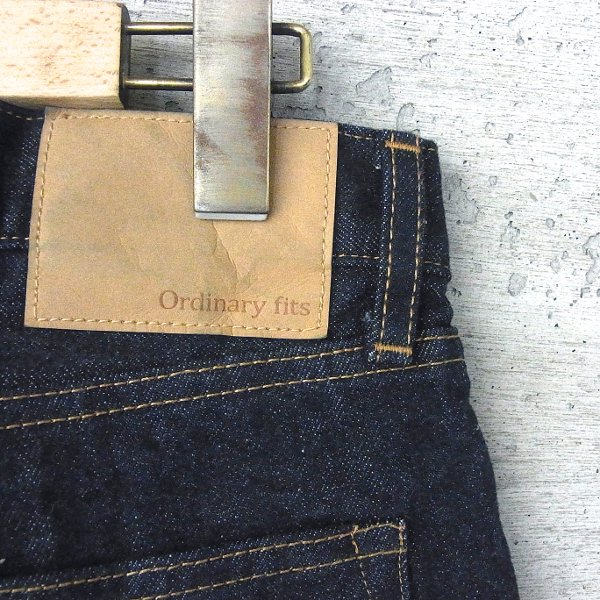 Ordinary fits | 5 POCKET ANKLE DENIM one wash(INDIGO)