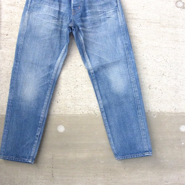 【40%OFFセール】Ordinary fits | 5 POCKET ANKLE DENIM used wash(BLUE)