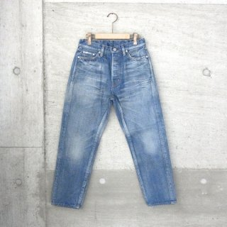 【30%OFFセール】Ordinary fits | 5 POCKET ANKLE DENIM used wash(BLUE)