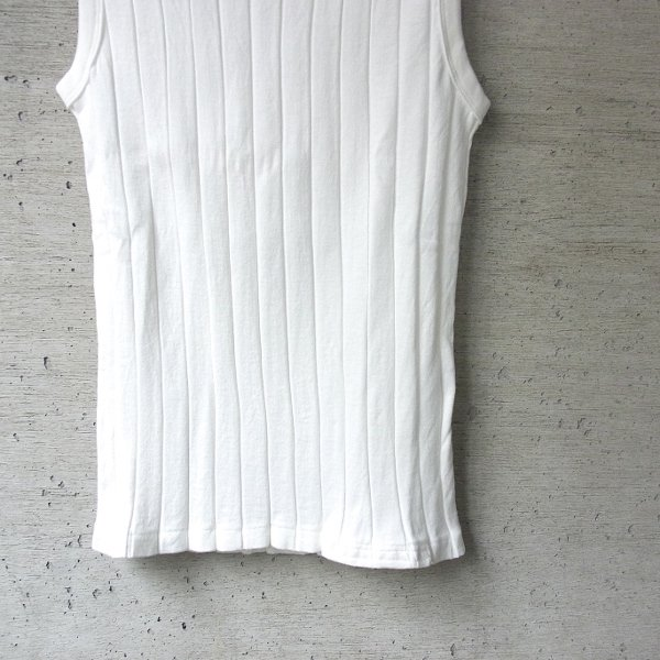YOUNG & OLSEN The DRYGOODS STORE | BROAD RIB TANK TOP(WHITE)