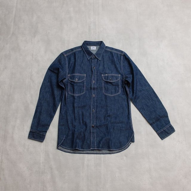 Lee <h3>Men's Denim Work Shirt/デニムワークシャツ