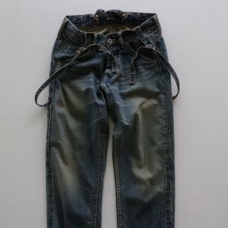 JOHNBULL <h3>Women's Suspenders Work Pants/サスペンダーワークパンツ
