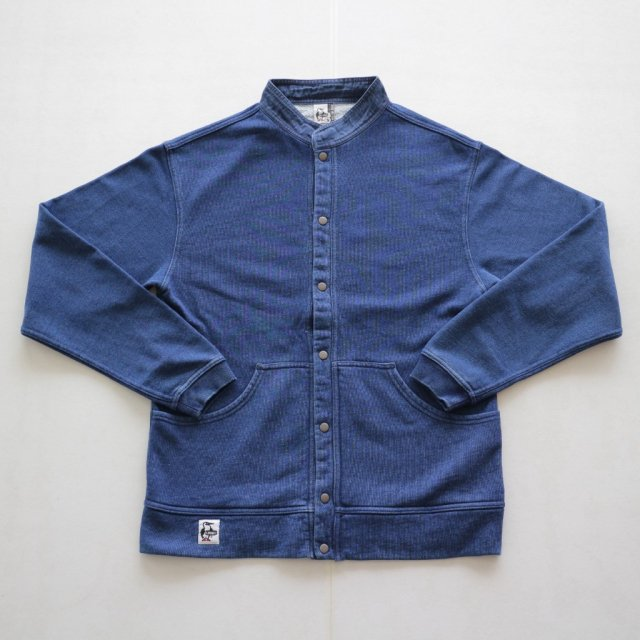 CHUMS <h3>Men's Hurricane Full Snap Top Indigo/ハリケーンフルスナップトップ