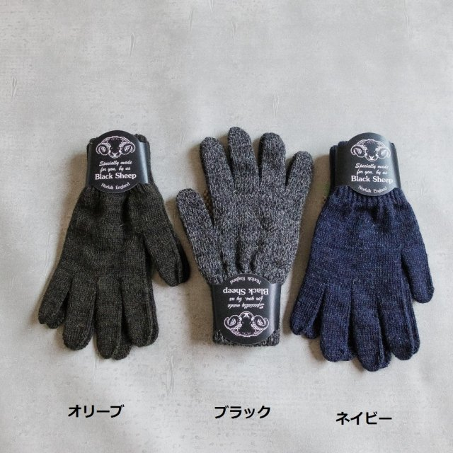 BLACKSHEEP <h3>Knit Glove/ウールグローブ