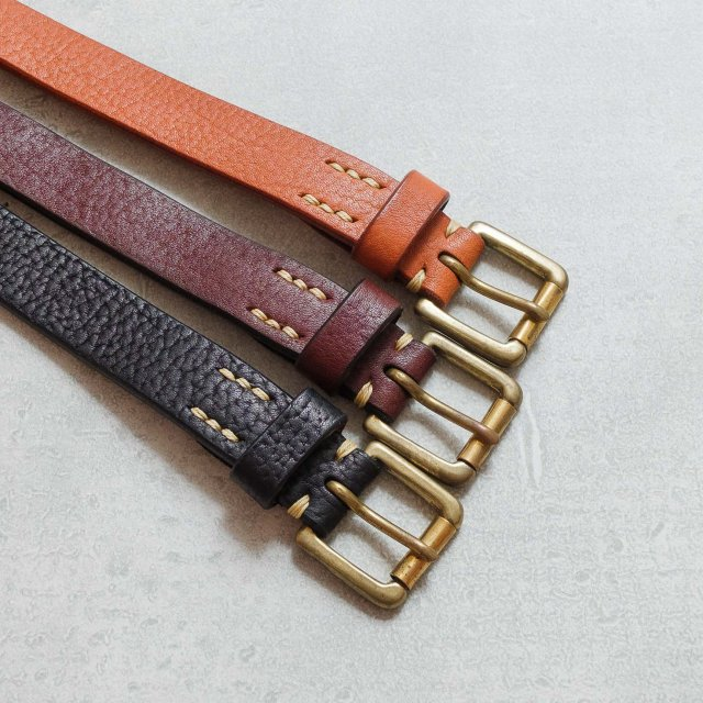 ZODIAC <h3> Leather Belt/レザーベルト