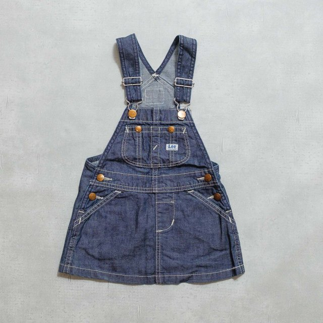 Lee<h3>Kid's Over All skirt/ガールズオーバーオールスカート
