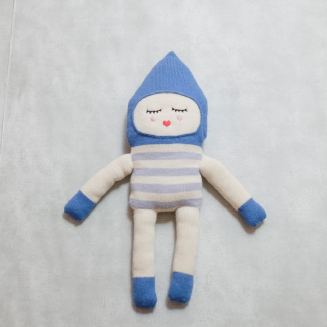 LUCKYBOYSUNDAY<h3>Kid's Plush Doll/ボンボンブルー