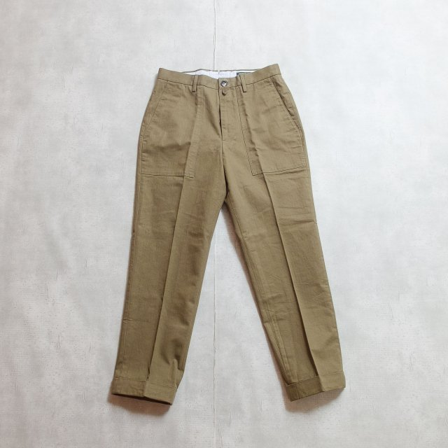BARNSTOMER<h3>Men's DRESSABLE CHINOS/ドレスファティーグ