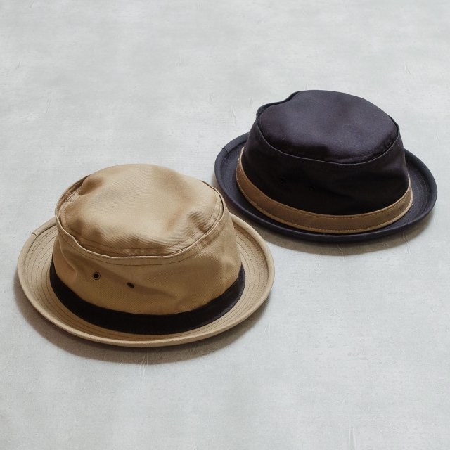 New York Hat<h3>Cotton Stingy/ポークパイハット