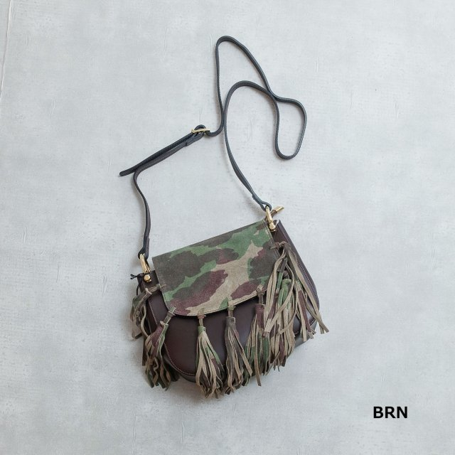 MARCO BIANCHNI<h3> Fringe Shoulder Bag/フリンジショルダーバッグ