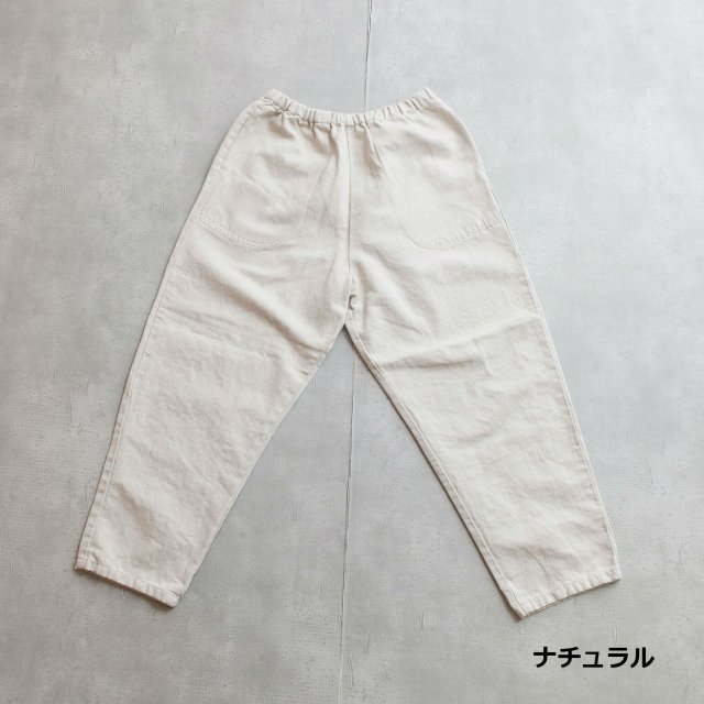 DANTON <h3>Women's Cotton Linen Eazy Pants/イージーパンツ