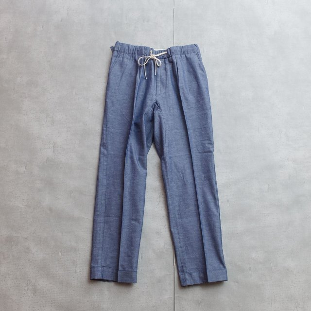 BARNSTOMER<h3>Men's Chambray Easy Pants/タックイージーパンツ