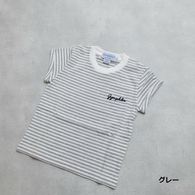 Gymphlex <h3>Kid's Combed Cotton Jersey T-shirts/クルーネックTシャツ