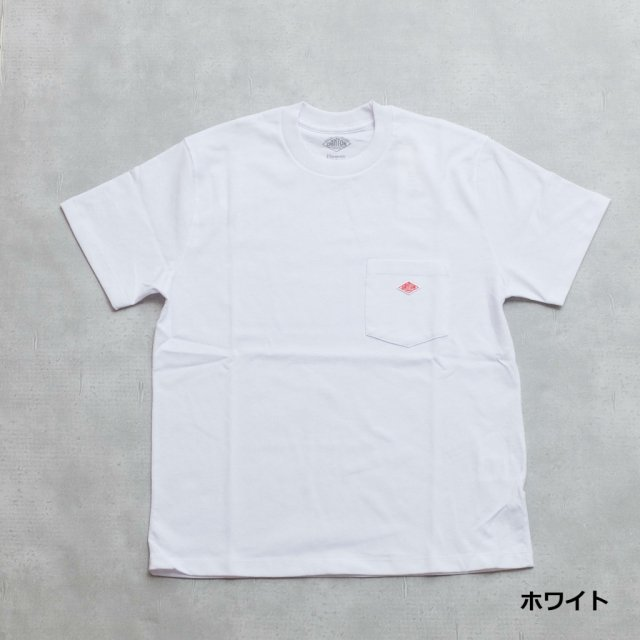 DANTON <h3>Men's Pocket T-Shirts/ポケットTシャツ