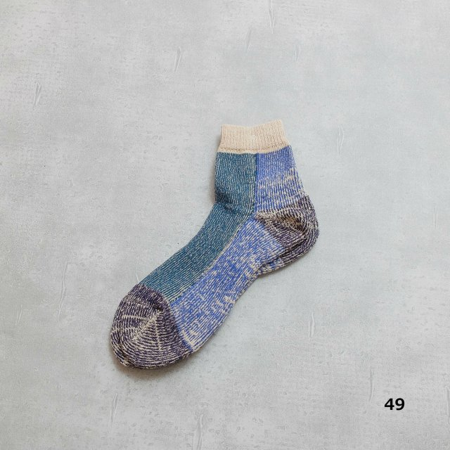ANONYMOUSISM <h3>Go Hemp Pile Quarter Socks/パイルクウォータソックス
