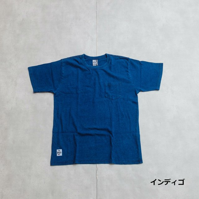 CHUMS <h3>Men's Indigo Utah Pocket T-Shirts/ユタポケットTシャツ