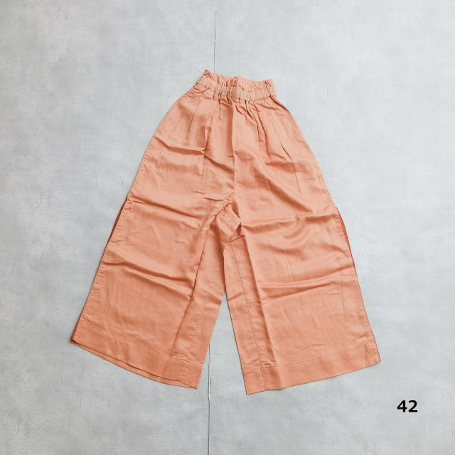 ANTGAUGE <h3>Women'sTencel cropped Pants /テンセルクロップドパンツ