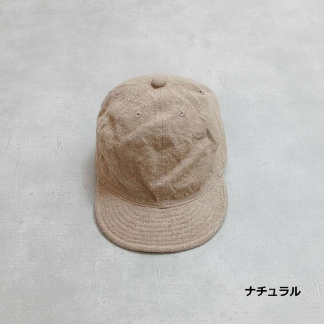 HIGHER<h3>Vintage Linen Cap/ヴィンテージリネンキャップ
