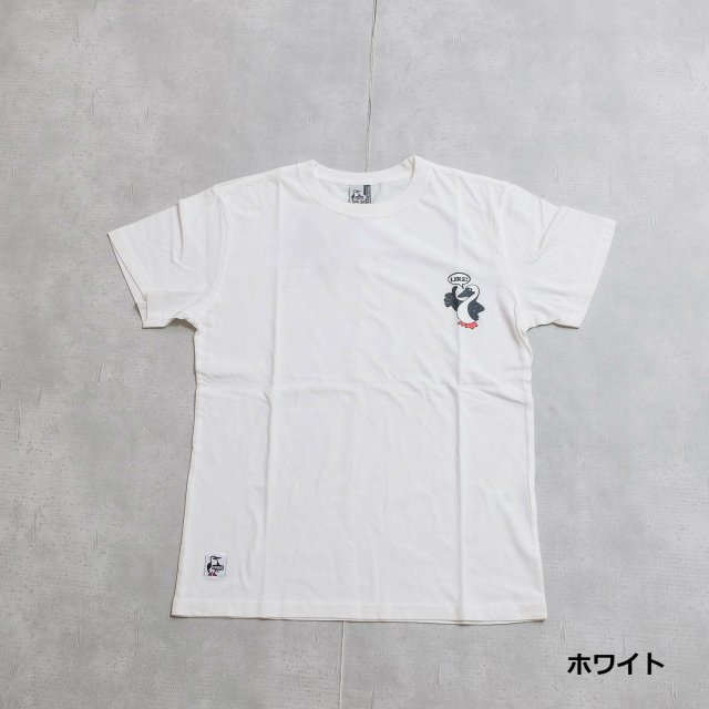 CHUMS <h3>Like! Print T-Shirt/ライク!Tシャツ