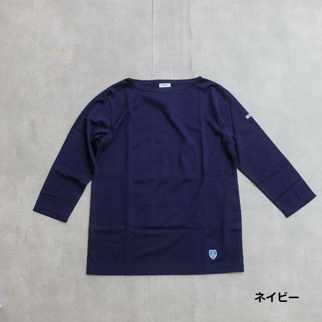 Orcival<h3>7Sleeve Boat Neck T-Shirts/ボートネックTシャツ