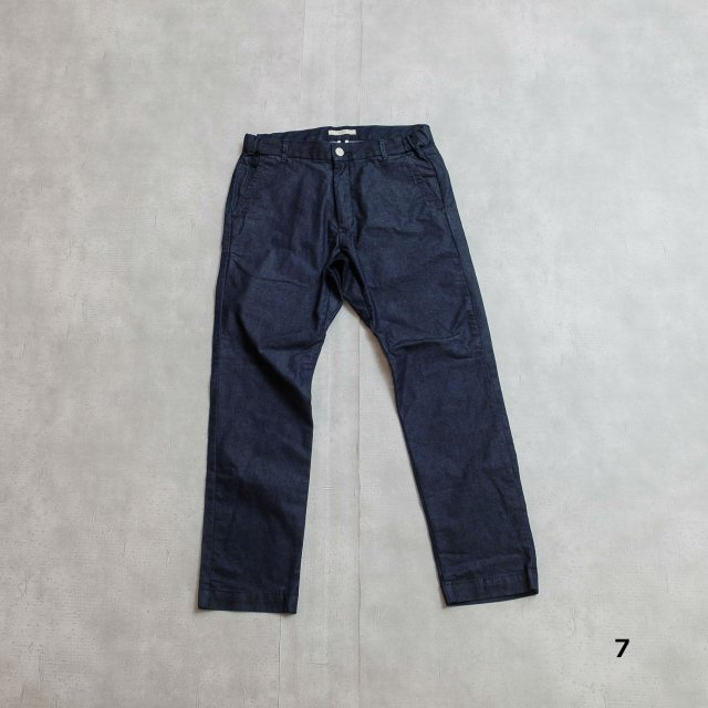 KAFIKA <h3>Men's CoolMax Denim Lounge Trousers/デニムトラウザー