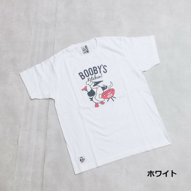 CHUMS <h3>Booby's Kitchen T-Shirt/ブービーズキッチンTシャツ