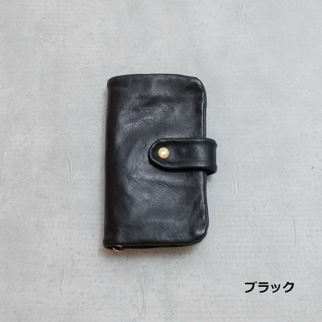 Dono<h3>Wash Leather Long Wallet/洗ベロ付財布
