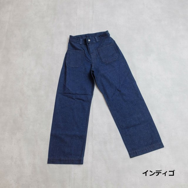 Orcival<h3>Women's 4 Patch Denim Pants/デニムデッキパンツ