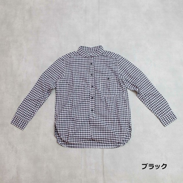 DMG <h3>Women's Standard Gingham Check Work Shirt/ワークシャツ