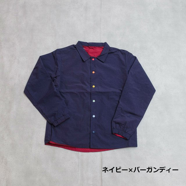 gym master<h3>Men's Reversible Coach Jacket/コーチジャケット