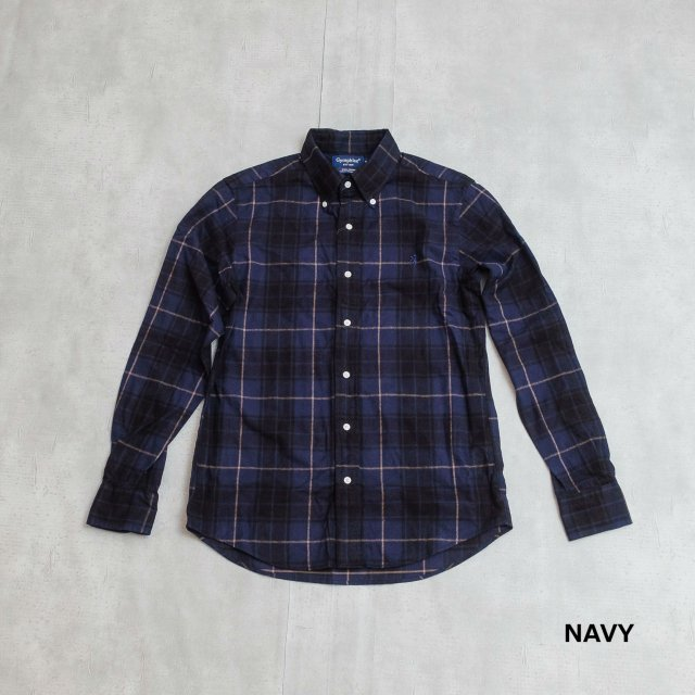 Gymphlex <h3>Men's Flannel Check Button-down shirt/チェックネルシャツ