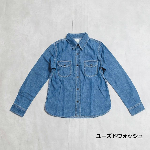Lee <h3>Women's Work Shirt/ワークシャツ