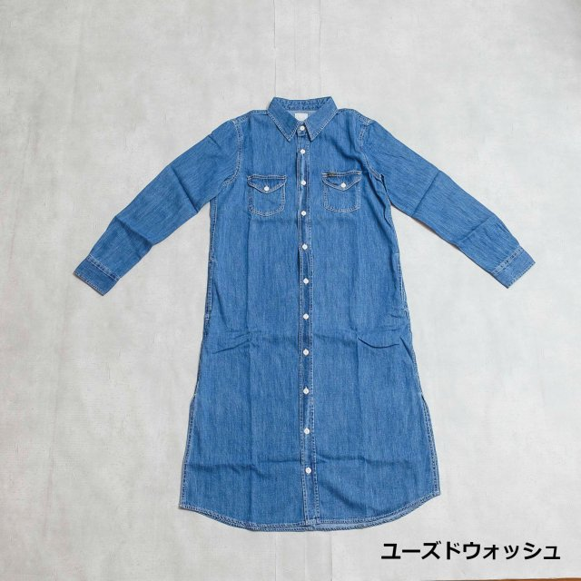 Lee <h3>Women's Long Work Shirt Onepiece/シャツワンピース