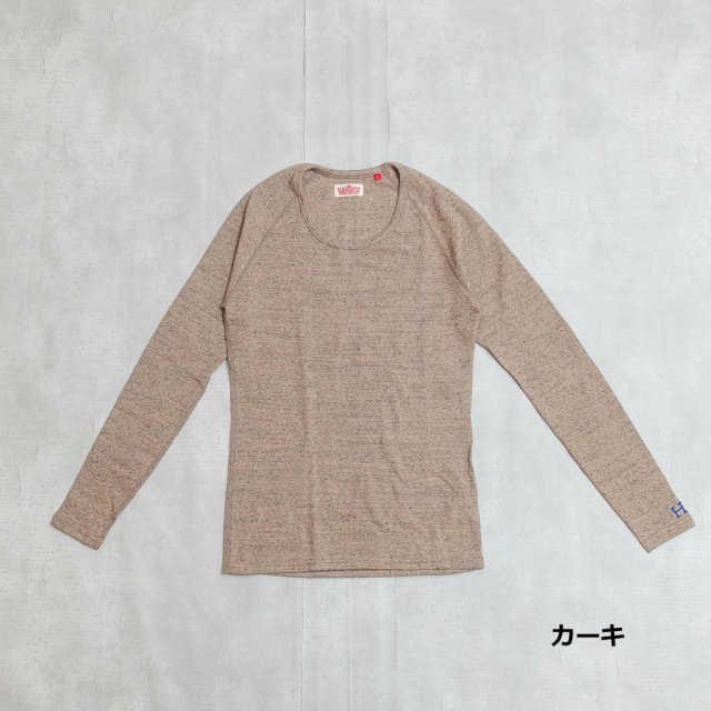 HOLLYWOOD RANCH MARKET <h3>Women's Stretch Fraise Long Sleeve T-Shirts /フライスロングスリーブティーシャツ