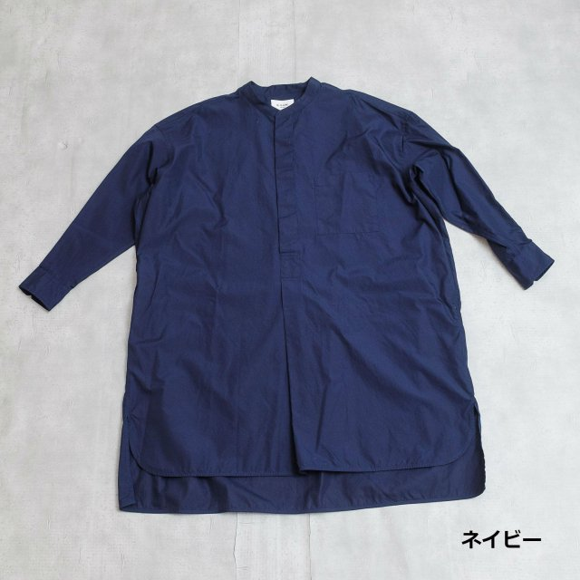 le glazik <h3>Women's Pullover Long Shirts/スキッパーワンピース
