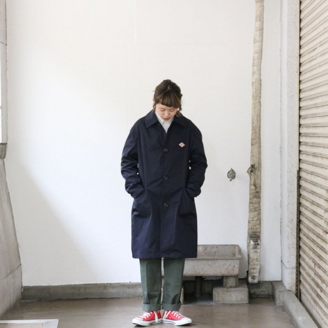DANTON <h3>Women's Double Cloth Coat/ショップコート