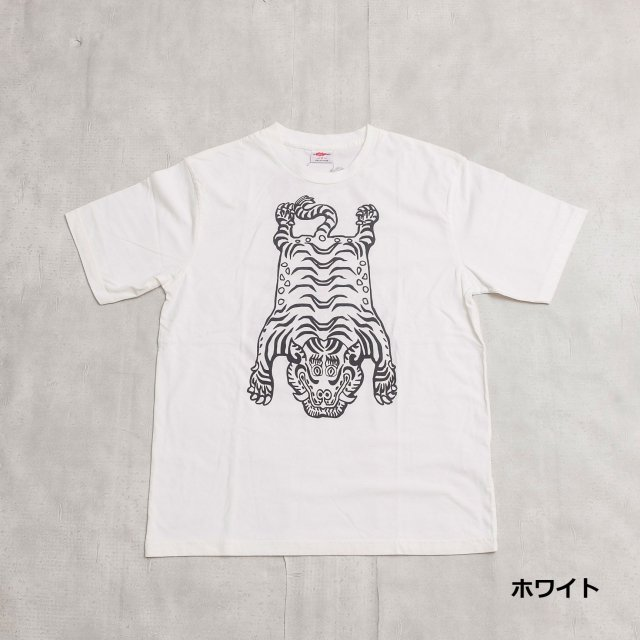 GAIJIN MADE <h3>Men's Tibetan Tiger Print T-Shirts/タイガープリントTシャツ