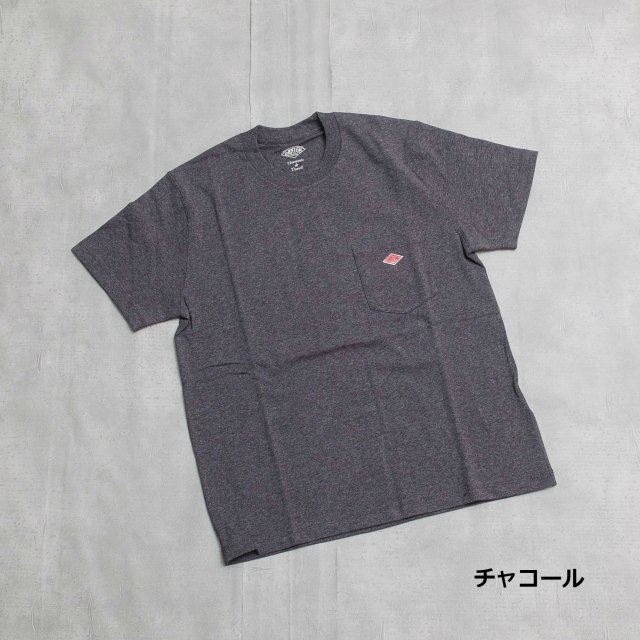 DANTON <h3>Women's Pocket Tee/ポケットTシャツ