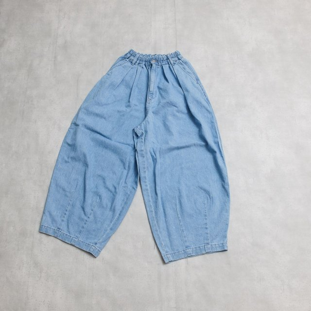 HARVESTY <h3>Women's Denim Circus Pants/デニムサーカスパンツ