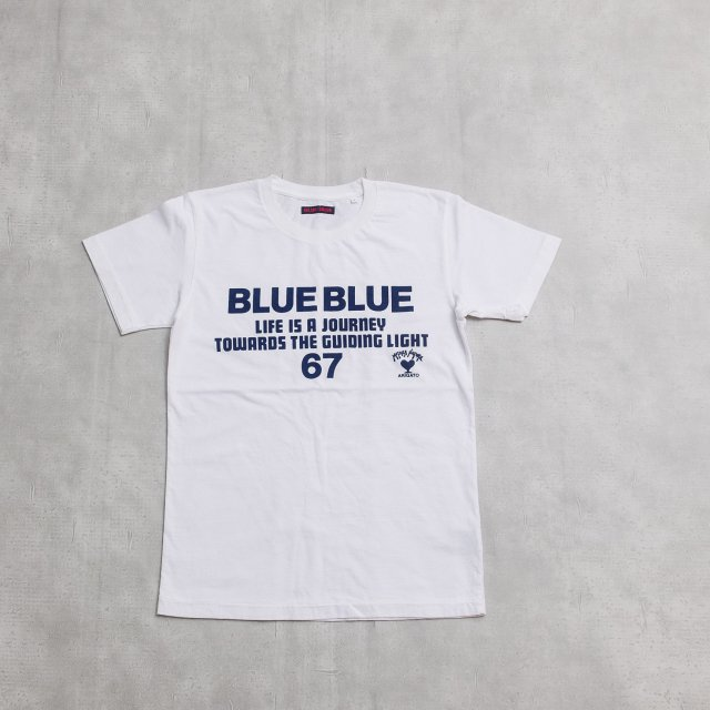 BLUE BLUE<h3>Men's BLUE BLUE 67 JOURNEY T-Shirts/プリントTシャツ