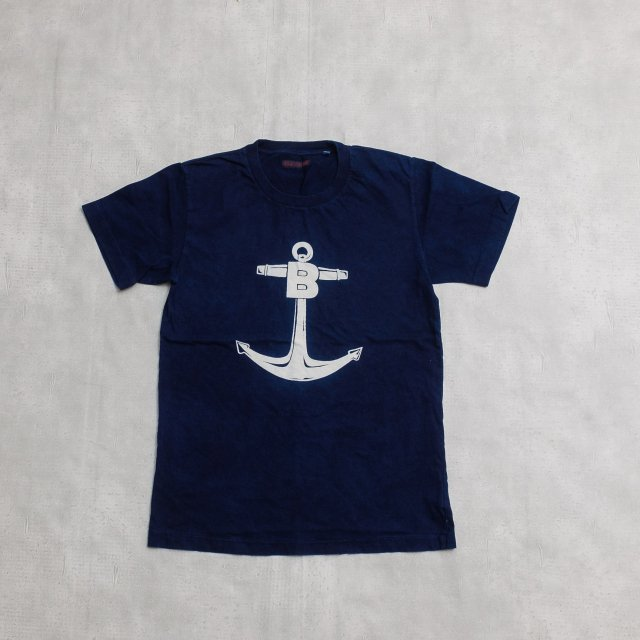 BLUE BLUE<h3>Men's ANCHOR T-Shirts/プリントTシャツ